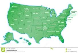 Image Of United States Map by Outline Map Of United States Royalty Free Stock Photography