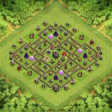 layout vila nivel 9 clash of clans th9 the castle transformer th 9 clash of clans base layout clash
