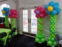 age balloon columns for a 40th birthday party balloon columns