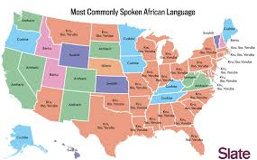 map in language language map what s the most popular language in your state