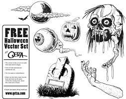 free halloween vectors vector free download