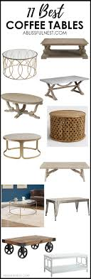 Affordable Coffee Tables Coffee Tables To Decorate Your Home With For Any Decor Style