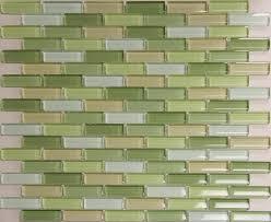 Green Subway Tile Kitchen Backsplash - kitchen backsplash light green subway tile stone backsplash