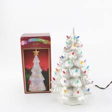 lighted porcelain trees ebth