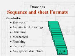 Architectural Drawing Sheet Numbering Standard by Architectural Working Drawings Part 1