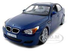 bmw model car maisto 31144 bmw m5 blue 1 18 diecast model car ebay