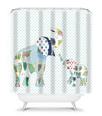 Elephant Bathroom Decor Elephant Shower Curtain Kids Shower Curtain Elephant Bathroom