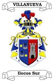 villanueva coat of arms villanueva family crest la familia