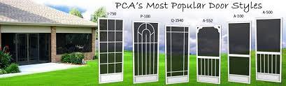 Screen Doors For Patio Screen Doors Houston Tx Patio Doors Porch Front Screen Pca Products