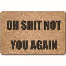 Coir Doormat Wipe Your Paws Best Funny Doormat Products On Wanelo