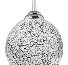Crackle Glass Pendant Light Shade Kitchen Lighting Shop