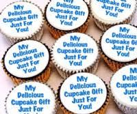 personalised cupcakes personalised cupcakes