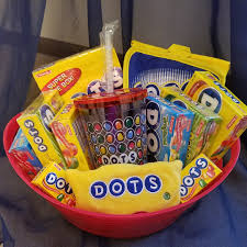 candy gift basket dots candy gift basket on storenvy