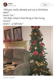 is it too early to put up your christmas tree