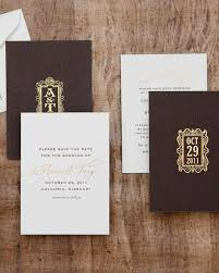 rustic save the date cards rustic save the dates we martha stewart weddings