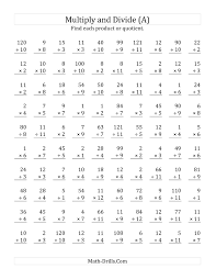 doc 12241584 horizontal multiplication facts worksheets u2013 100
