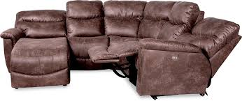 La Z Boy James Reclining by Four Piece Power Reclining Sectional Sofa With Ras Reclining