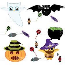 halloween vectors vector illustration halloween icons stock vector art 587894532