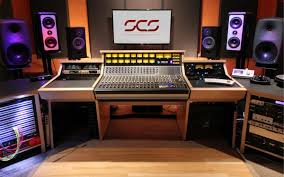 Home Recording Studio Desks by Custom Recording Studio Furniture Scs