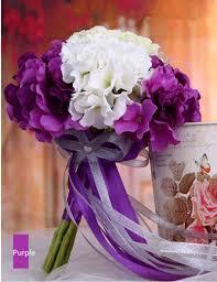 bouquet for wedding white pink blue purple european style bridal