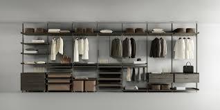 mensole rovere grigio zenit cabina armadio componibile guardaroba rimadesio