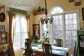 Country Kitchens by French Country Kitchen Style Freshened Up Debbiedoos