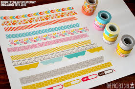 things to do with washi tape the sweetest thing giveaway 3 decorative washi tape jenallyson