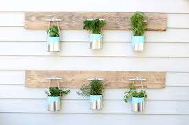 diy paint can herb garden simple stylings
