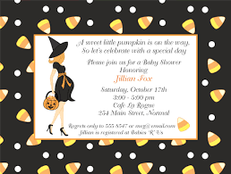 halloween baby shower invitation wording zdornac info