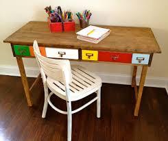 White Children S Desk by Magnificent Childrens Desk Plans And Ana White Kids Storage Leg