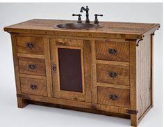 Rustic Bathroom Vanity by Reclaimed Barnwood Open Vanity Rustic Bathrooms Vanities And Cabin