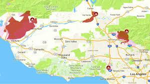 incendios en el sur de california no dan tregua y amenazan con