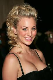front poof hairstyles hairstyle hairstyle kaley cuoco natural hair color haircut