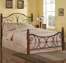 pretty looking black iron bed frames 17 amazing black metal bed