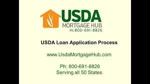 usda loan application process youtube