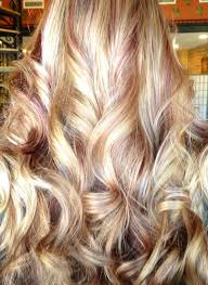 blonde high and lowlights hairstyles love this but not merlot not sure what color though merlot