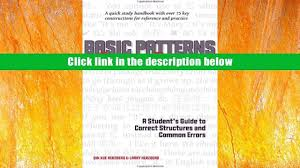 quick study guides favorite book basic patterns of chinese grammar a student s guide