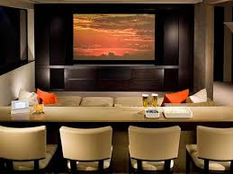 Minimalist Home Theatre Design For Family Gathering Spot - Best home theater design