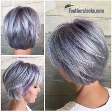 shag haircut brown hair with lavender grey streaks so beautiful shades of grey pinterest hair style haircuts