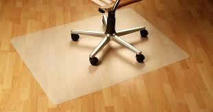 how can i protect a hardwood floor from a rolling office chair
