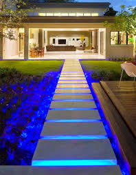 Outdoor Backyard Lighting Ideas How To Use Led Garden Lights For Garden Decoration 37 Ideas