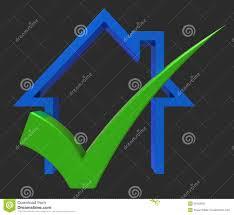 Haus Zu Haus Mit Kontrolle Zeigt Haus Zu Verkaufen Oder Darlehen Stock
