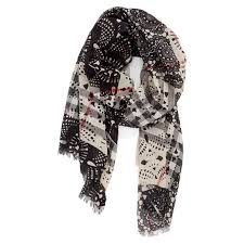 lace accessories burberry lace patchwork scarf sharpheels