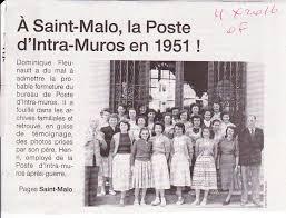 bureau de poste malo d anciennes photos vers 1950 de la poste de malo qui va
