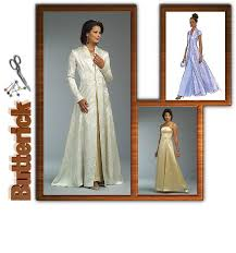 butterick 4732 formal dress and coat