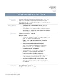 Volunteer Coordinator Resume Sample by Volunteer Coordinator Resume Sample Free Resume Example And