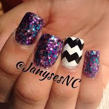 best 20 chevron acrylic nails ideas on pinterest sparkly