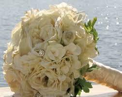 Wedding Flowers Roses Bridal Bouquet Etsy