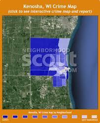kenosha map kenosha crime rates and statistics neighborhoodscout