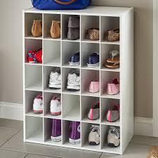 Shoe Closet With Doors Narrow Shoe Rack Wayfair